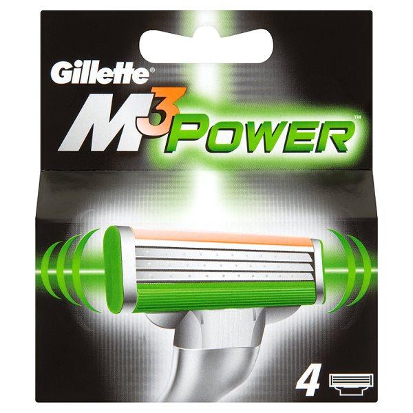 Wkłady Gillette M3Power /4szt.