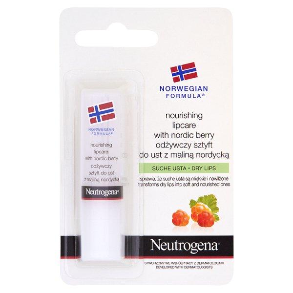 Sztyft do ust Neutrogena z maliną nordycką