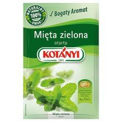 Przyprawa Kotanyi mięta zielona otarta