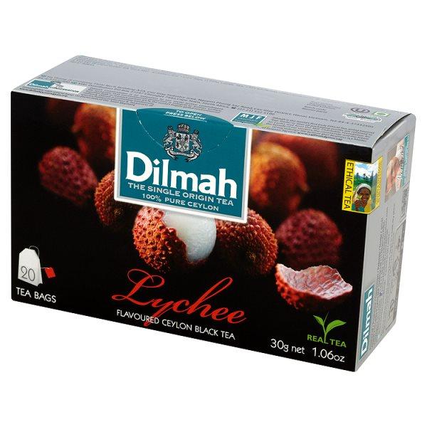 Herbata cejlońska czarna z aromatem lychee 20*1,5g