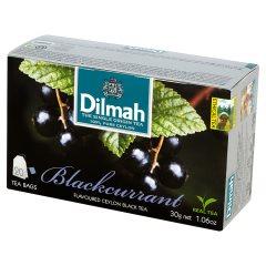 Herbata cejlońska czarna z aromatem czarnej porzeczki 20*1,5g