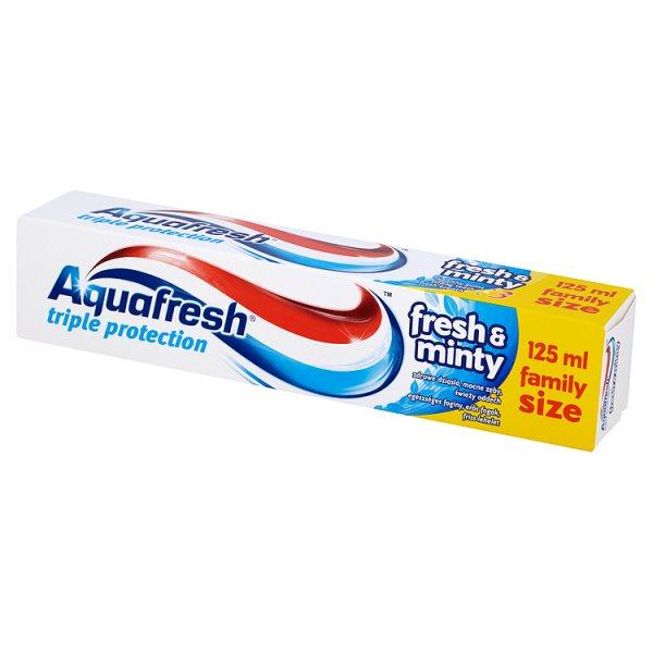 Pasta Aquafresh Fresh&Minty 75ml+50ml gratis