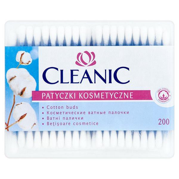 Cleanic Patyczki kosmetyczne 200 sztuk