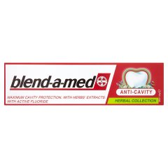 Blend-a-med anticavity pasta herbal + mineral action