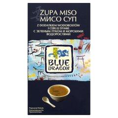 Zupa miso z dodatkiem wodorostów i cebuli dymki Blue Dragon