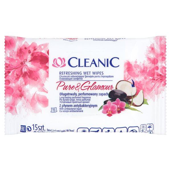 Chusteczki Cleanic odświeżające Activ