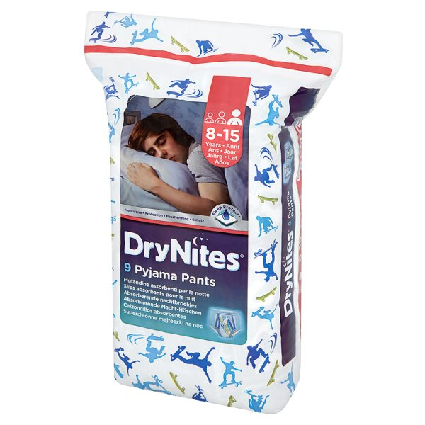 Majteczki Huggies drynites 8-15 lat boys