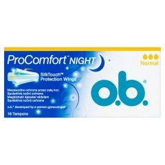 Tampony O.B. ProComfort Night Normal