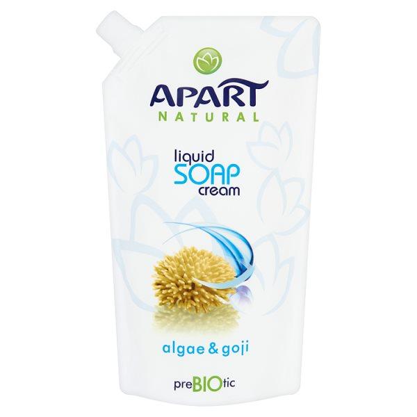 Apart mydło w płynie prebiotic zapas algi i goji