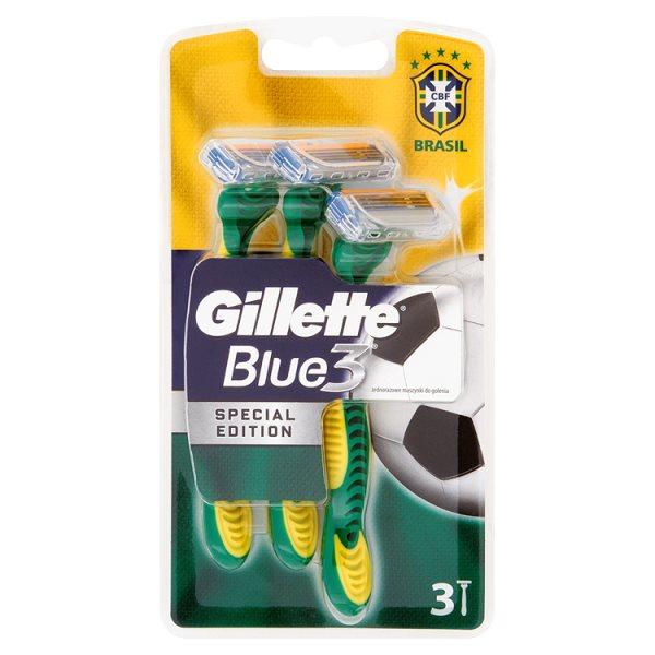 Gillette maszynka blue3 brazil