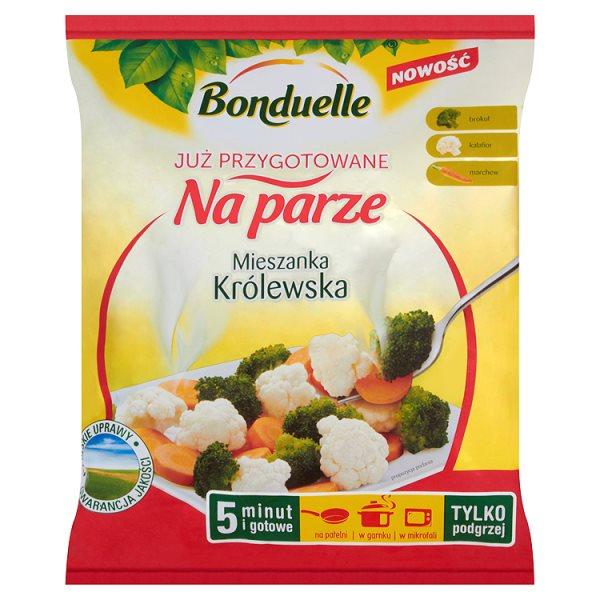 Bonduelle Już przygotowane na parze Mieszanka królewska 400 g