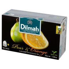 Herbata cejlońska czarna z aromatem gruszki i pomarańczy 20*1,5g