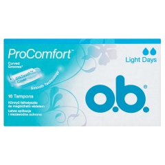 O.B. ProComfort Light Days Tampony 16 sztuk