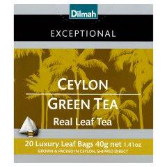 Herbata Dilmah Exceptional ceylon green tea