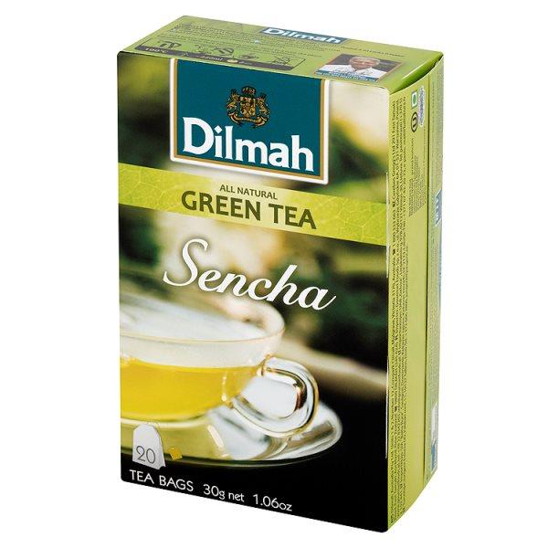 Herbata green sencha naturalna zielona ekspresowa 20*1,5g /30g
