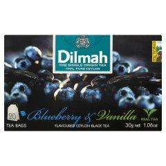 Herbata cejlońska czarna z aromatem cz.jagody i wanilii 20*1,5g