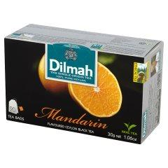 Herbata cejlońska czarna z aromatem mandarynki 20*1,5g
