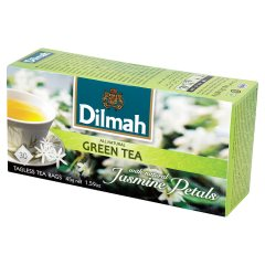 Herbata Dilmah green tea jasmine petals