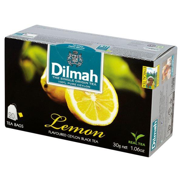 Herbata cejlońska czarna z aromatem cytryny 20*1,5g