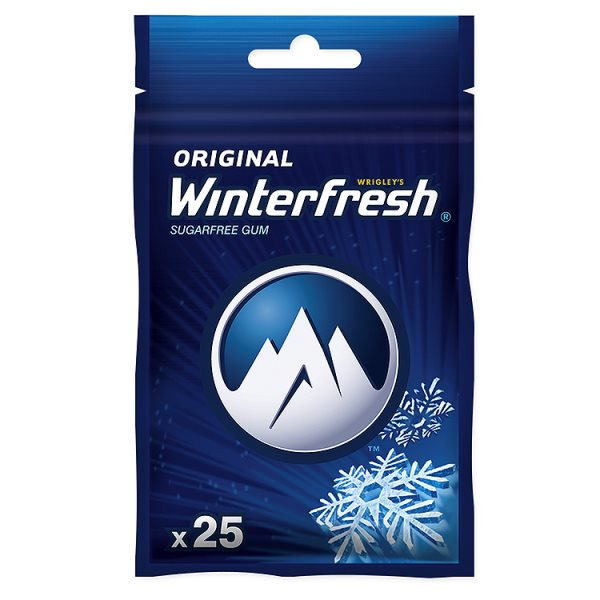 Guma Winterfresh Original 25 drażetek