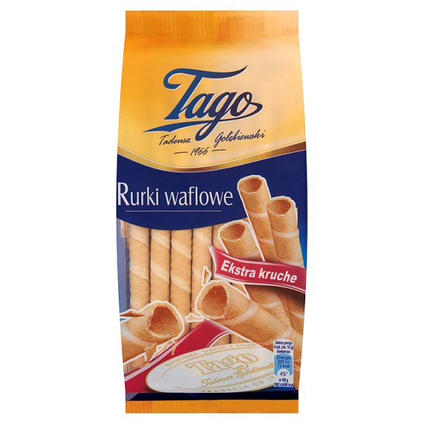 Rurki waflowe Tago