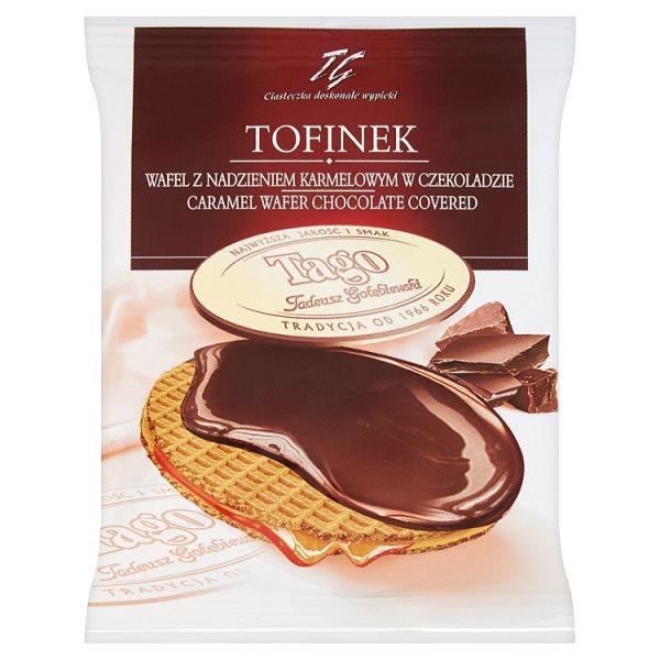 Wafel Tofinek  z toffi w czekoladzie