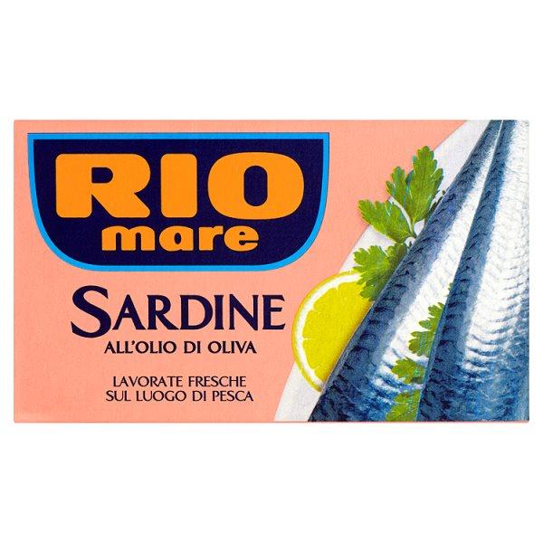 Rio Mare Sardynki w oliwie z oliwek 120 g