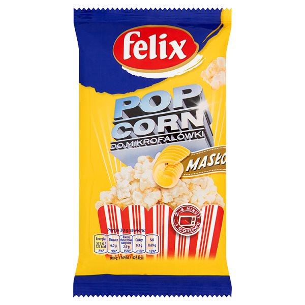 Popcorn Felix maślany