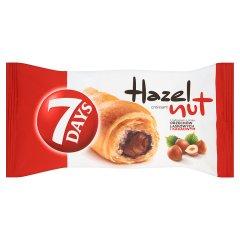 7 Days Hazelnut Croissant z nadzieniem o smaku orzechów laskowych i kakaowym