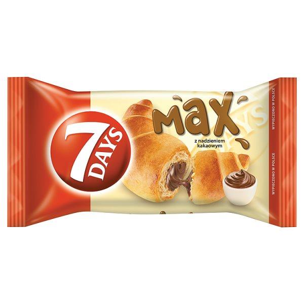 7 Days Max Croissant z nadzieniem kakaowym