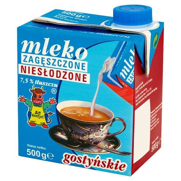 Mleko zagęszczone niesłodzone