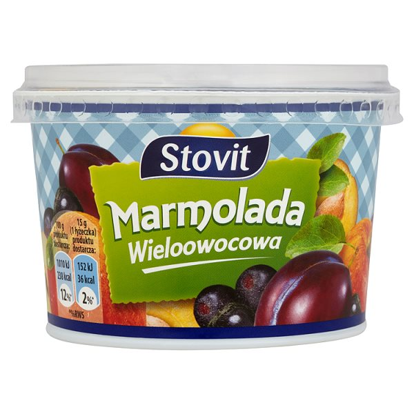 Stovit Marmolada wieloowocowa 320 g