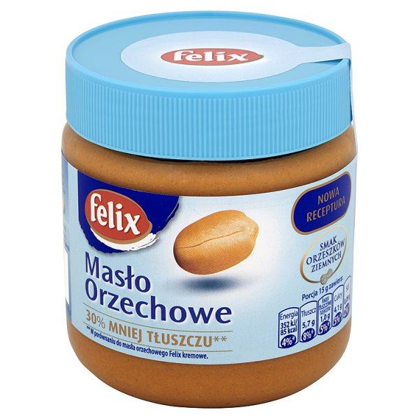 Masło Felix orzechowe 30% mniej tłuszczu