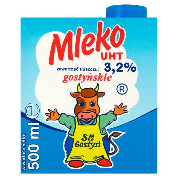 SM Gostyń Mleko gostyńskie UHT 3,2% 500 ml
