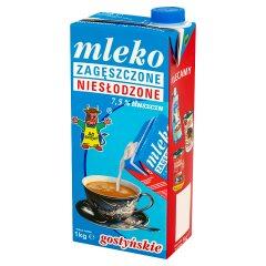 SM Gostyń Mleko gostyńskie zagęszczone niesłodzone 7,5% 1 kg
