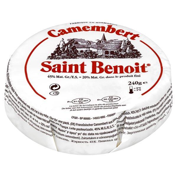 Saint Benoit Ser camembert 240 g