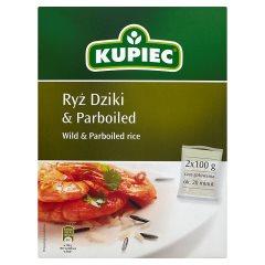 Ryż Kupiec  dziki i parboiled