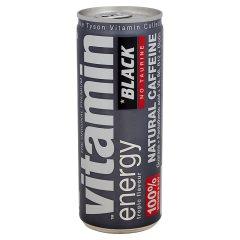Black Vitamin Energy Natural Caffeine napój energetyzujący