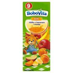 Sok BoboVita Jabłko z bananem i morelą
