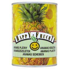HAPPY FRUCHT Ananas plastry 565 g