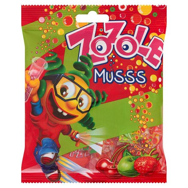 Cukierki zozole o smaku jabłkowym,truskawkowym i wiśniowym musujące