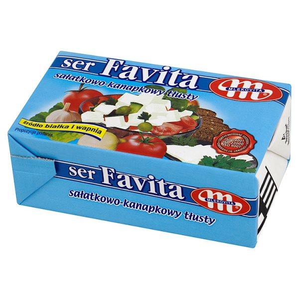 Ser Favita pełnotłusty