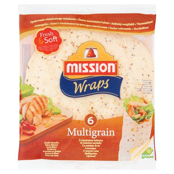 Wraps Tortilla z mąki pszennej z siemieniem lnianym Mission