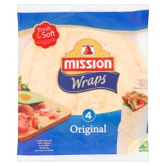Wraps Original Tortilla z mąki pszennej Mission