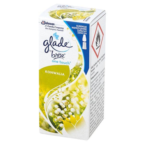 Odświeżacz Glade by Brise One Touch Mini Spray Konwalia Zapas