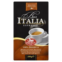 Kawa Bar Italia Espresso Arabica mieszanka kawy naturalnej mielonej