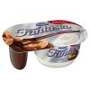 Fantasia mus z sosem czekoladowo -migdałowym