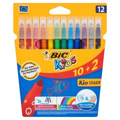 Flamastry Bic Kid Couleur 12 kolorów