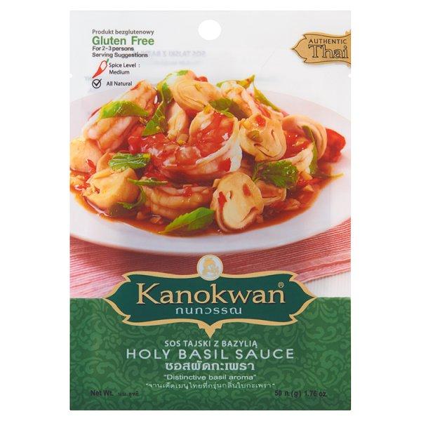 Kanokwan Sos tajski z bazylią 50 g