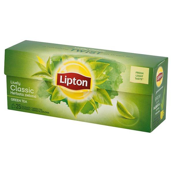 Herbata Lipton zielona classic 25*1,3g